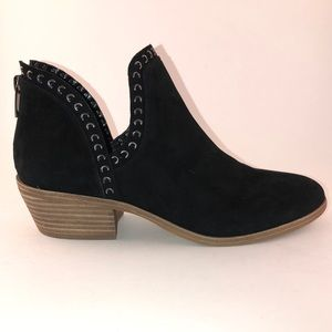 Vince Camuto Black booties, size 8.5, worn twice.